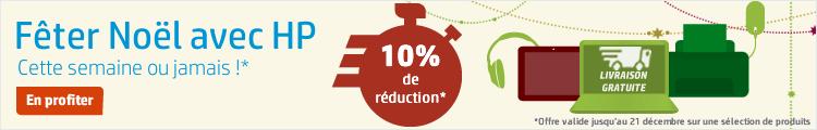 Offre de Noël. 10% de réduction