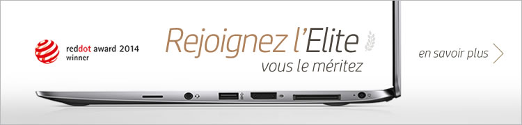 Découvrir la famille de PC et tablettes professionnels HP Elite